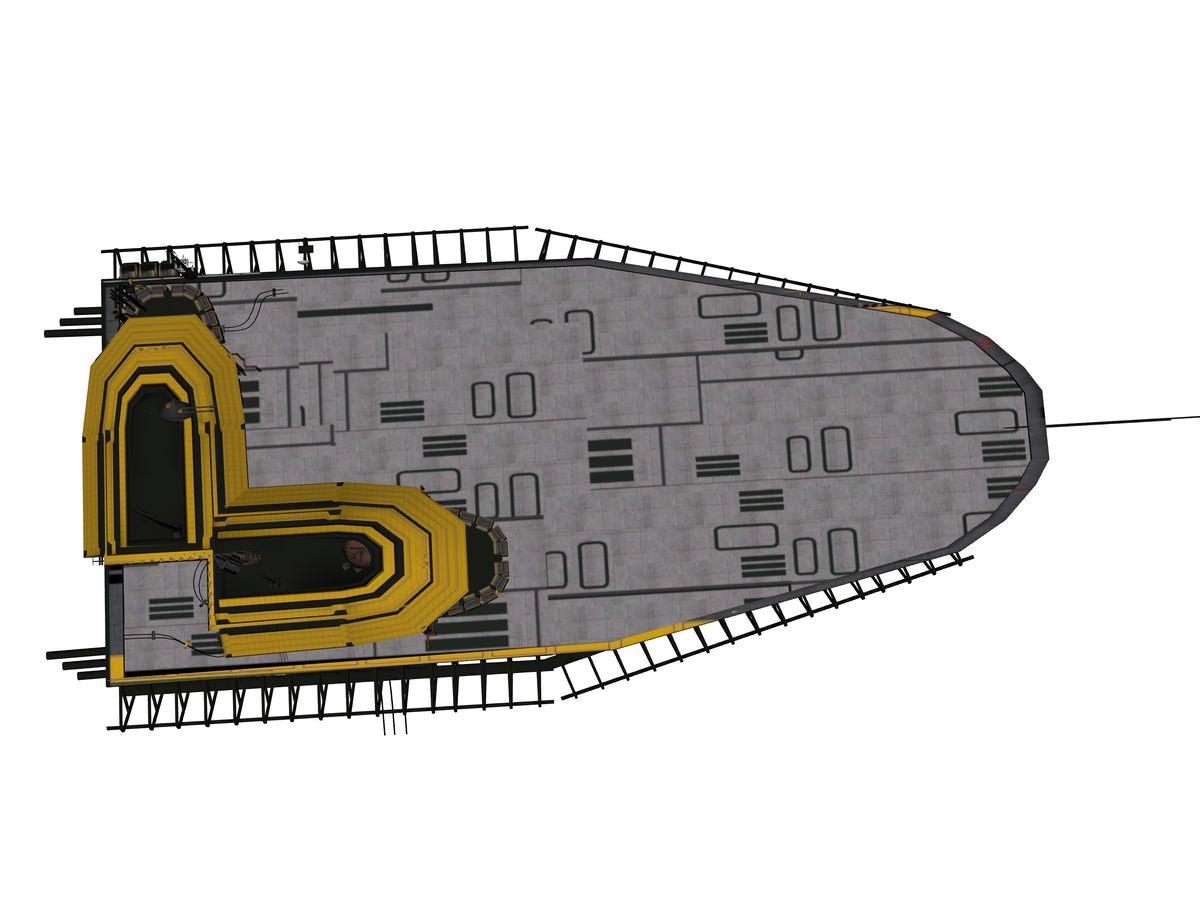 Sci Fi Landing Platform on Science Toys Satellite Models