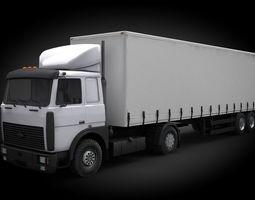 truck MAZ 5432 3D
