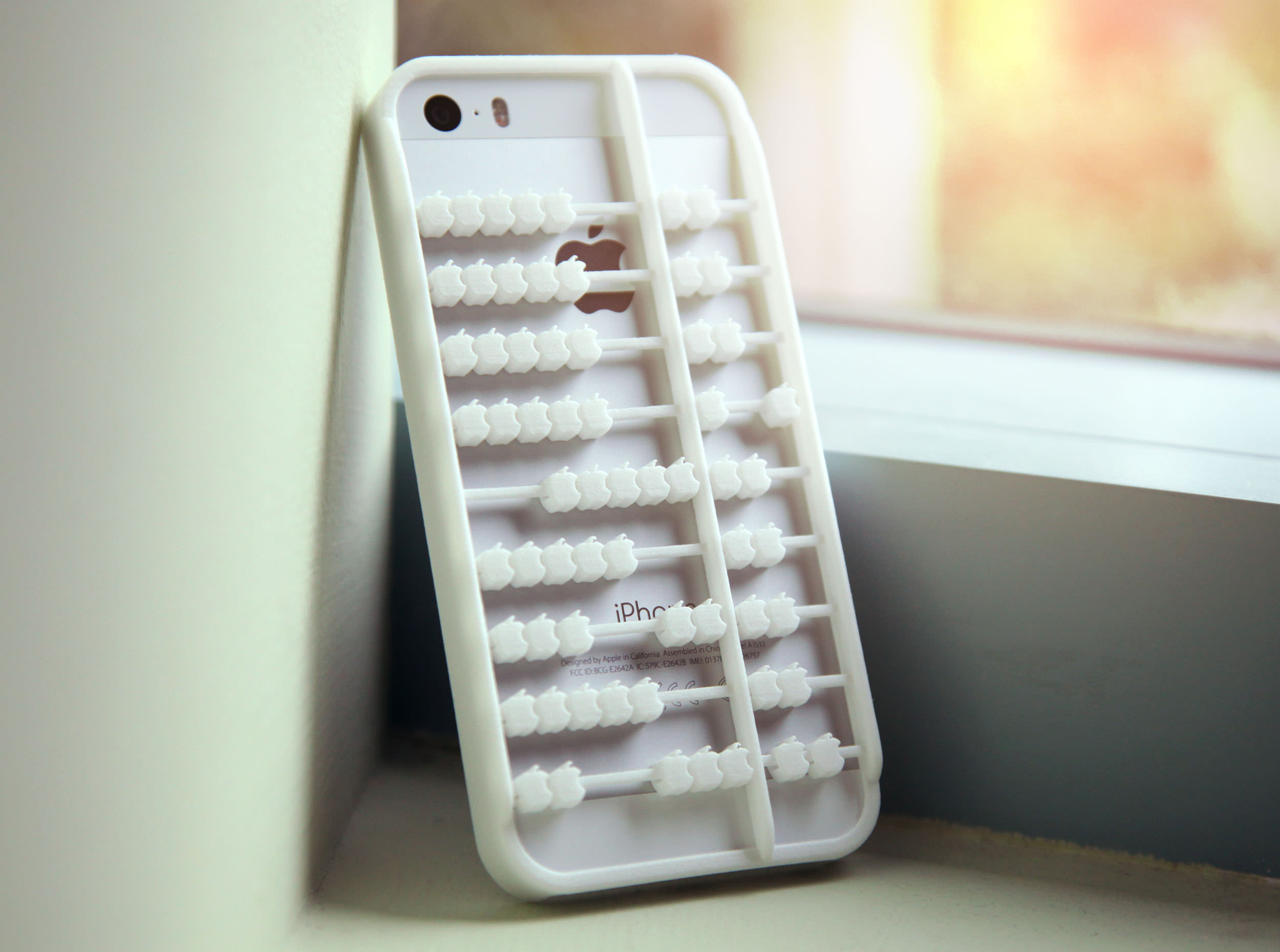Abacus iPhone 5 5s Case 3D Model 3D printable .obj - CGTrader.com
