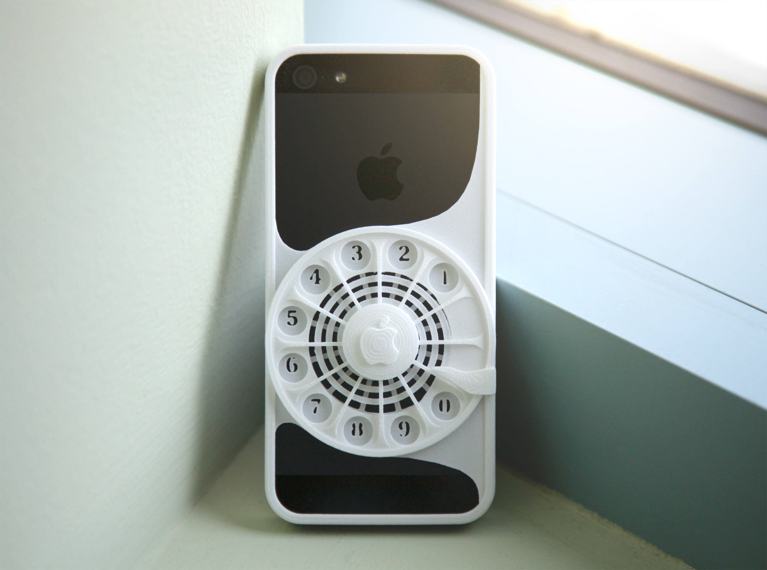 Rotary Phone Case For Iphone 5 5s 3d Model 3d Printable