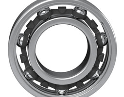 3D model Ball Bearing scanline