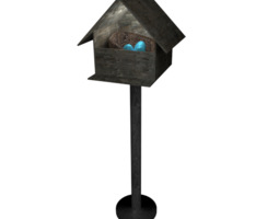Robin's Birdhouse 3D Model