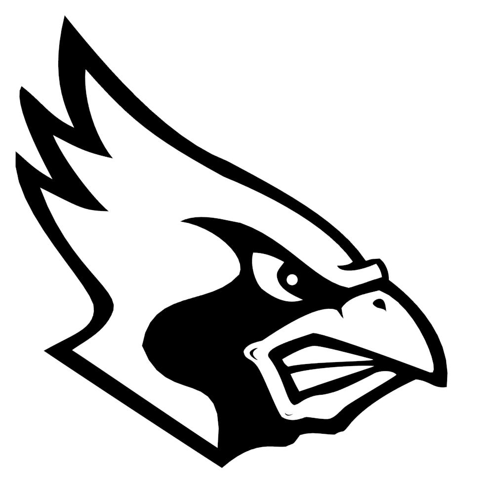 Cardinal Mascot Logo Free 3D Model .max .obj .3ds .fbx