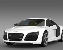 3D model Audi R8 eTron Prototype 2013