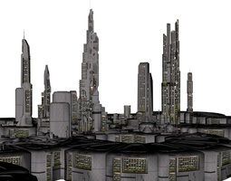 3D print model Orion Colonial City