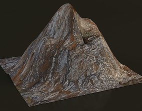 Low Poly Mountain 3D model