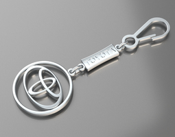 Pendant Toyota 3D Model