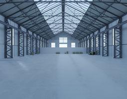 Old Warehouse 3D asset