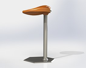 3D model Stool Chair ROUTH