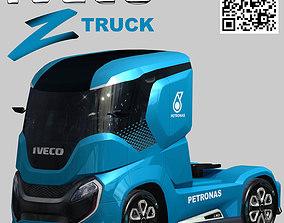 Iveco Z concept truck 3D asset