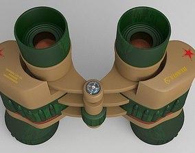 binocular 3D model