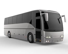 3D model people Deluxe Coach Bus