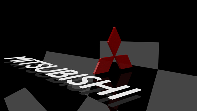 Mitsubishi Logo 3d Model Game Ready Cgtrader