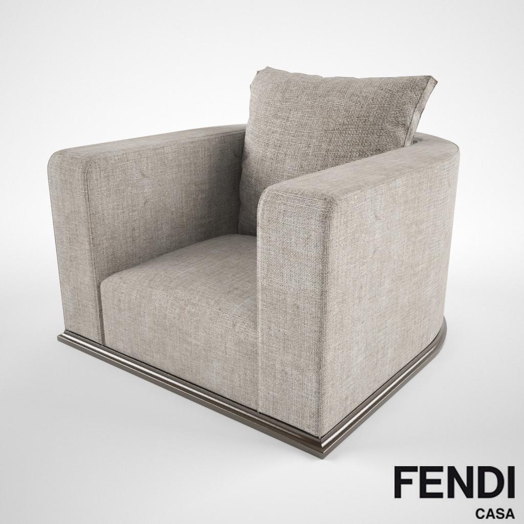 Fendi Casa Memoire 3d Model Max Obj Fbx Cgtrader Com