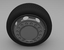 Truck Bus Wheel 3D Model