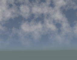 Realistic Moving Clouds 3D