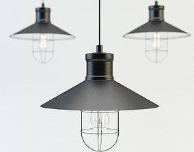 Loft design lamp 3D