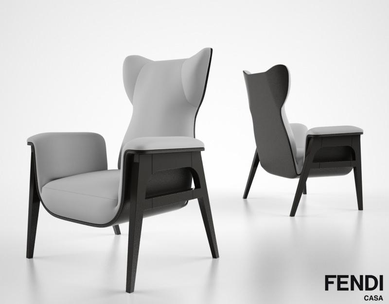 Fendi Casa Cerva 3d Model Max Obj Fbx Cgtrader Com