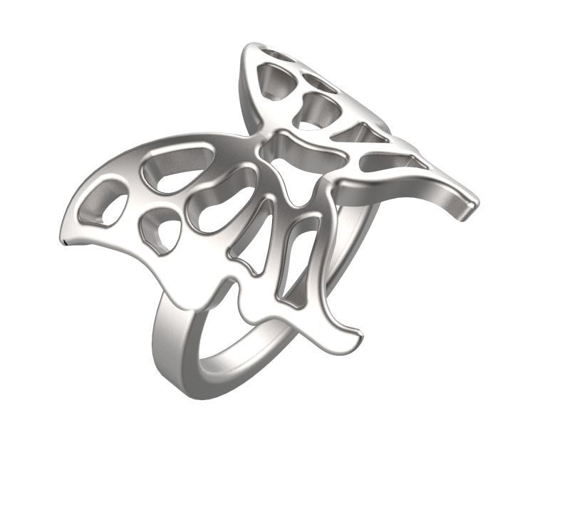 Butterfly Dress Ring