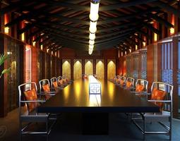 3D model Posh Pub Interior