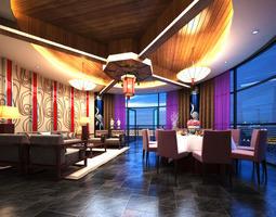 3D model Bar Premium Interior