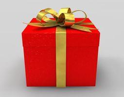 3D xmas Gift Box