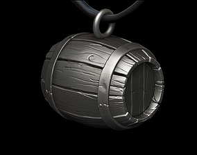 necklaces 3D printable model Barrel concept Necklace