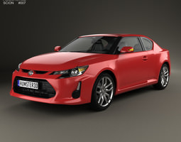 Scion tC 2014 3D model