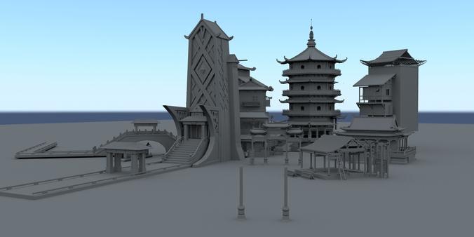 building3D model