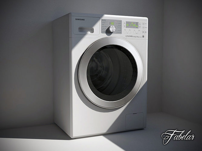 3d Model Washing Machine 02 Cgtrader