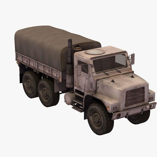 MTVR Army Truck3D model