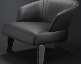 3D model Minotti Creed Large Armchair