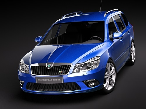 Skoda Octavia RS combi automobile 2010