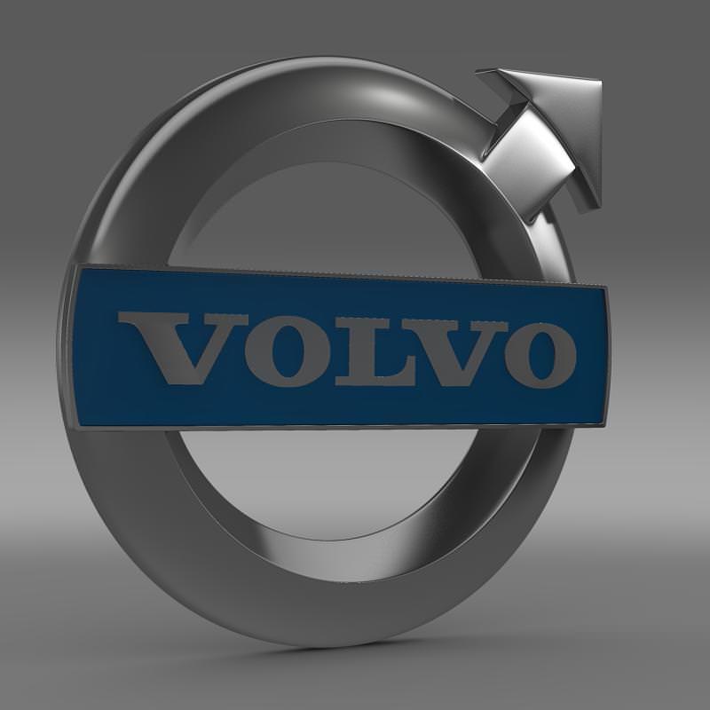 Volvo Logo 3D Model MAX OBJ 3DS FBX C4D LWO LW LWS | CGTrader.com