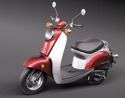 Honda Metropolitan 3D Model