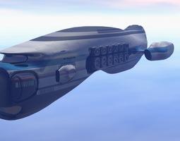 Exxon Cargo  Starship 3D Model