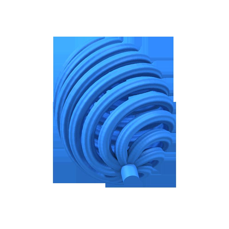 Vortex Egg Support 3D Model 3D Printable STL