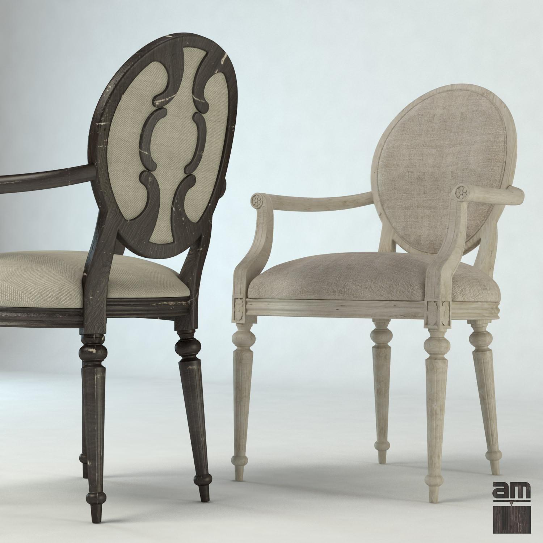 Merveilleux Louis Xv Vintage Chair 3d Model Max Obj Fbx 1 ...