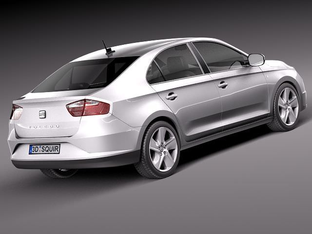 seat toledo 2013 3d model max obj 3ds fbx c4d lwo lw lws. Black Bedroom Furniture Sets. Home Design Ideas