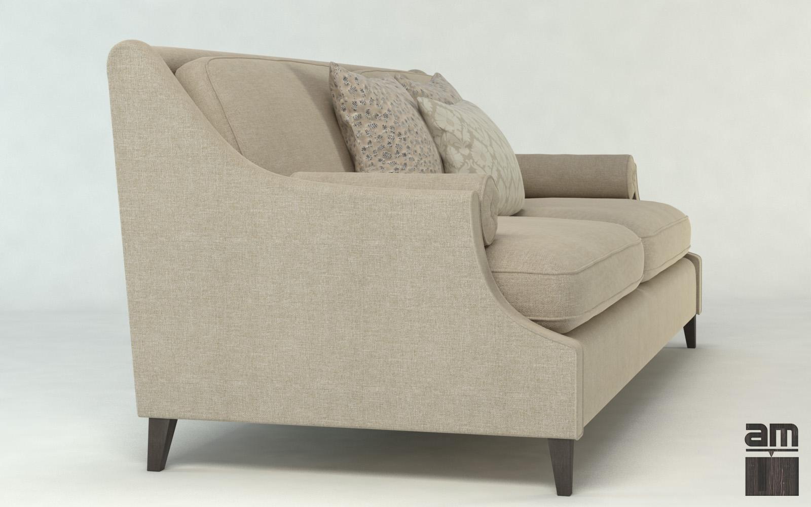 Modern Sofa Dubai 3d Model Max Obj Fbx