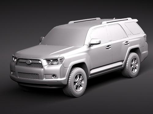 Toyota Hiace Van 3d Model Free
