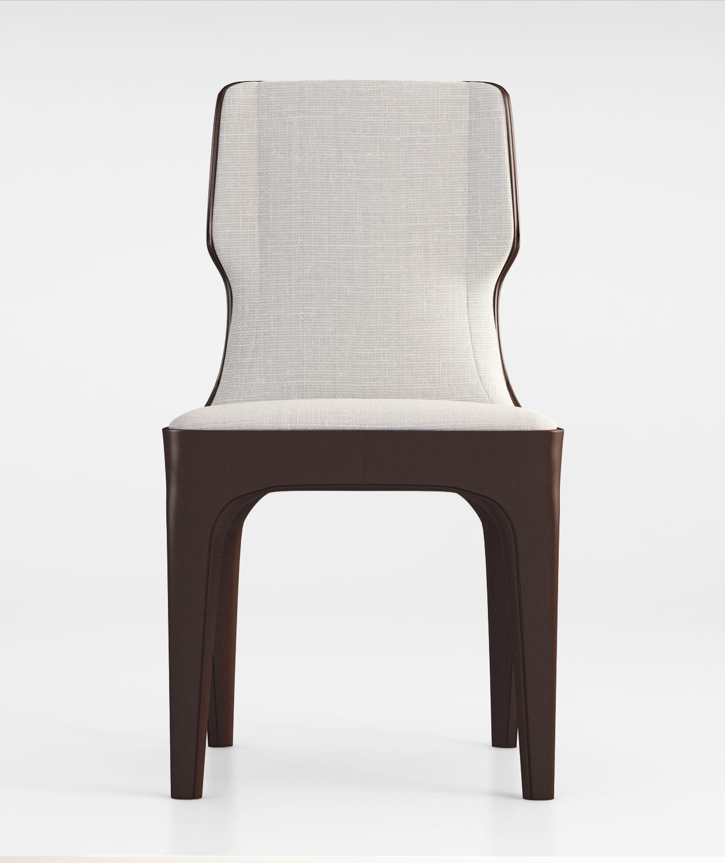 Giorgetti Tiche Chair 2014 3d Model Max Obj