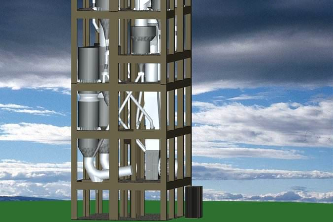 Cement Plant Preheater Cyclone Images : Tonnes per day cyclone preheater s free d