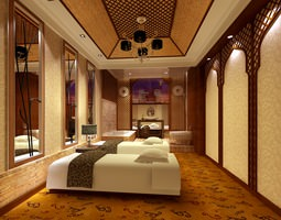 3D Designer Carpeted SPA Room