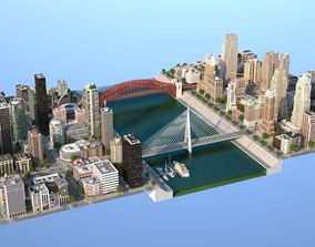 River City 3D model