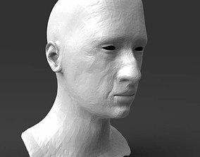 3D printable model Detailed head 3