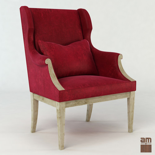 Signora Sn Phillippo s Armchair3D model