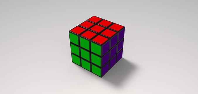 Rubik S Cube 68570 3d Model 3d Printable Stl Sldprt Sldasm