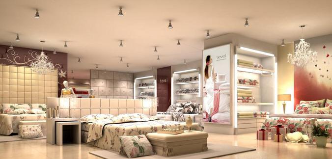Attirant Exclusive Furniture Store 3D Model