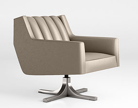 3D Holly Hunt Channel armchair